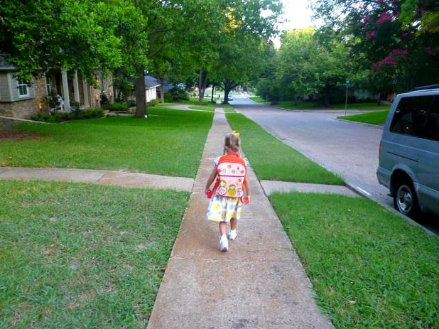 Hope first day of K