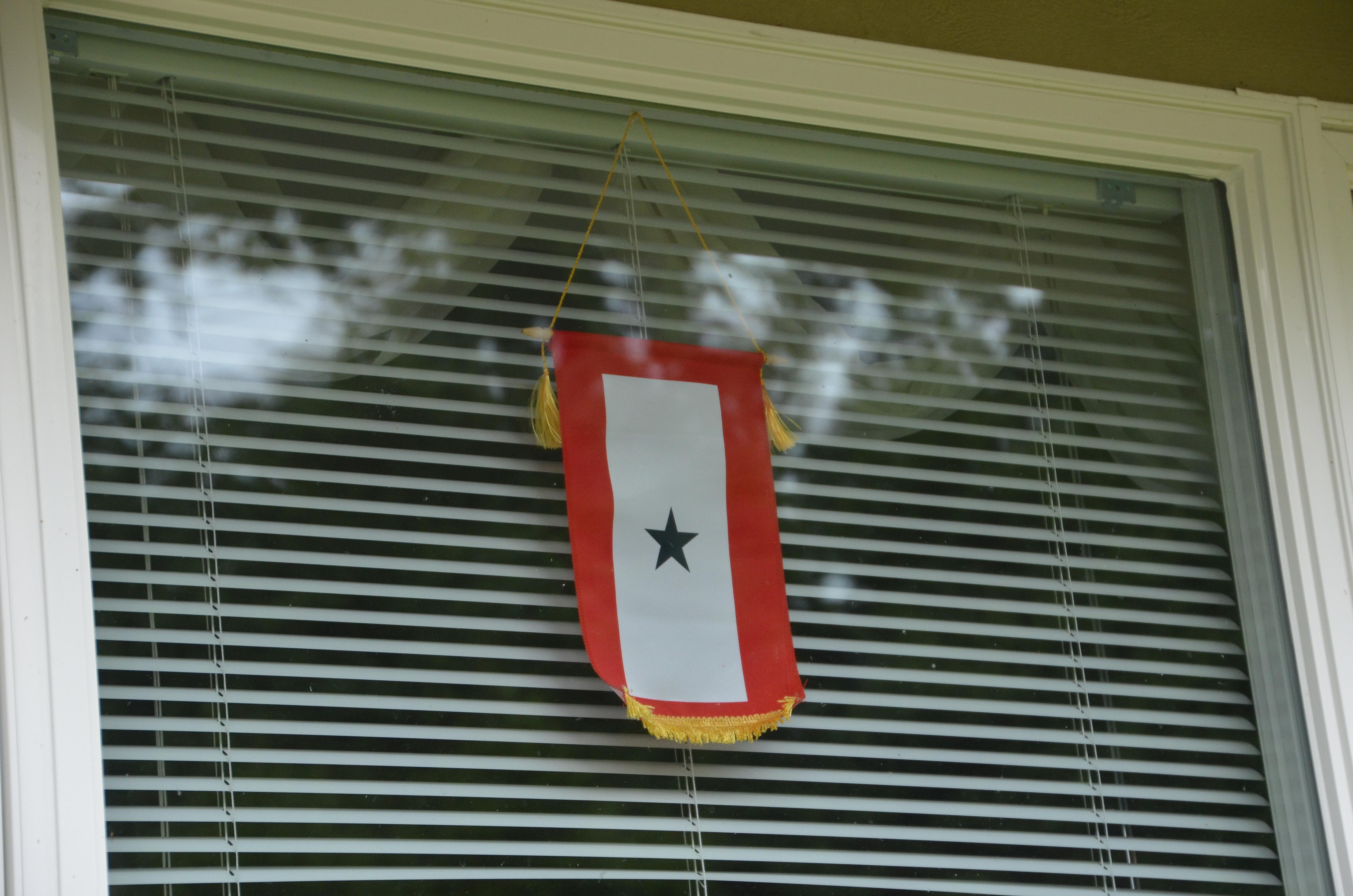 blue star service banner – the happy wonderer ~ ellen b