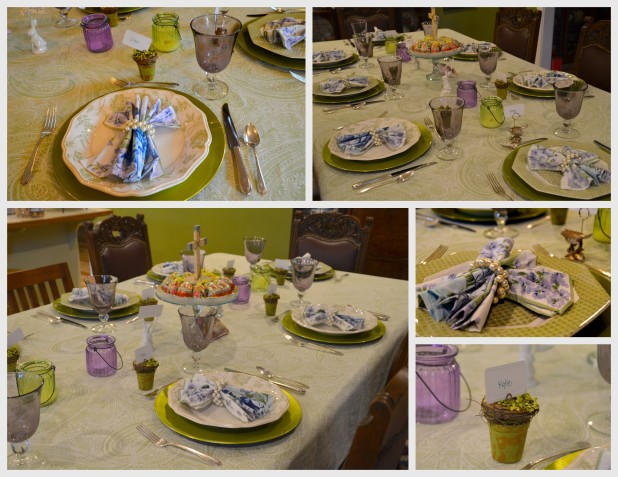 2014-04-20 Easter eggs-table