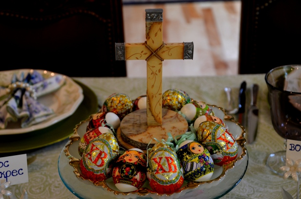 Easter eggs-table 057