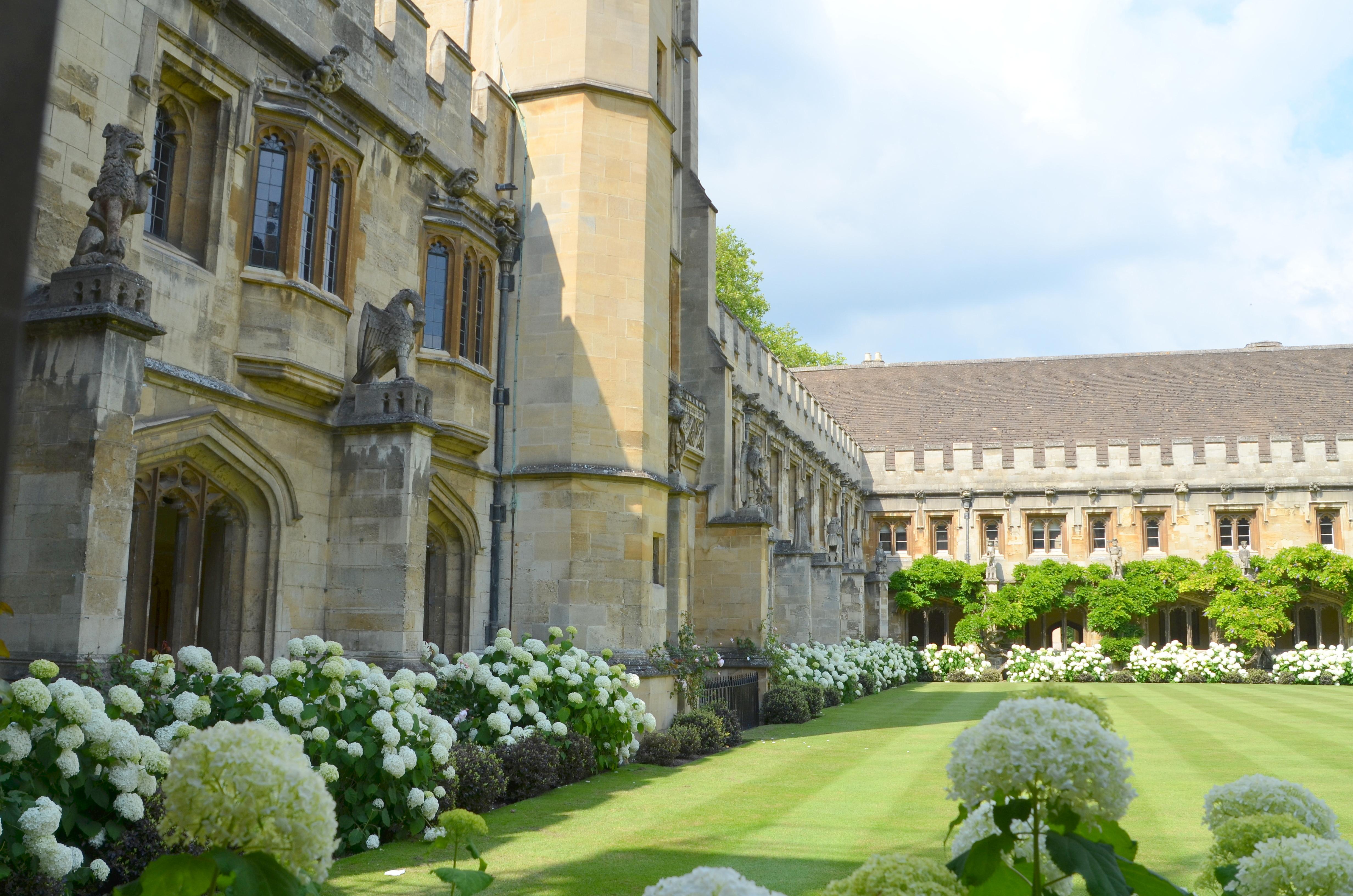 Magdalen College Oxford – The Happy Wonderer ~ ellen b.