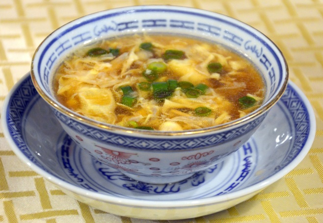 quesadilla egg flower soup 012