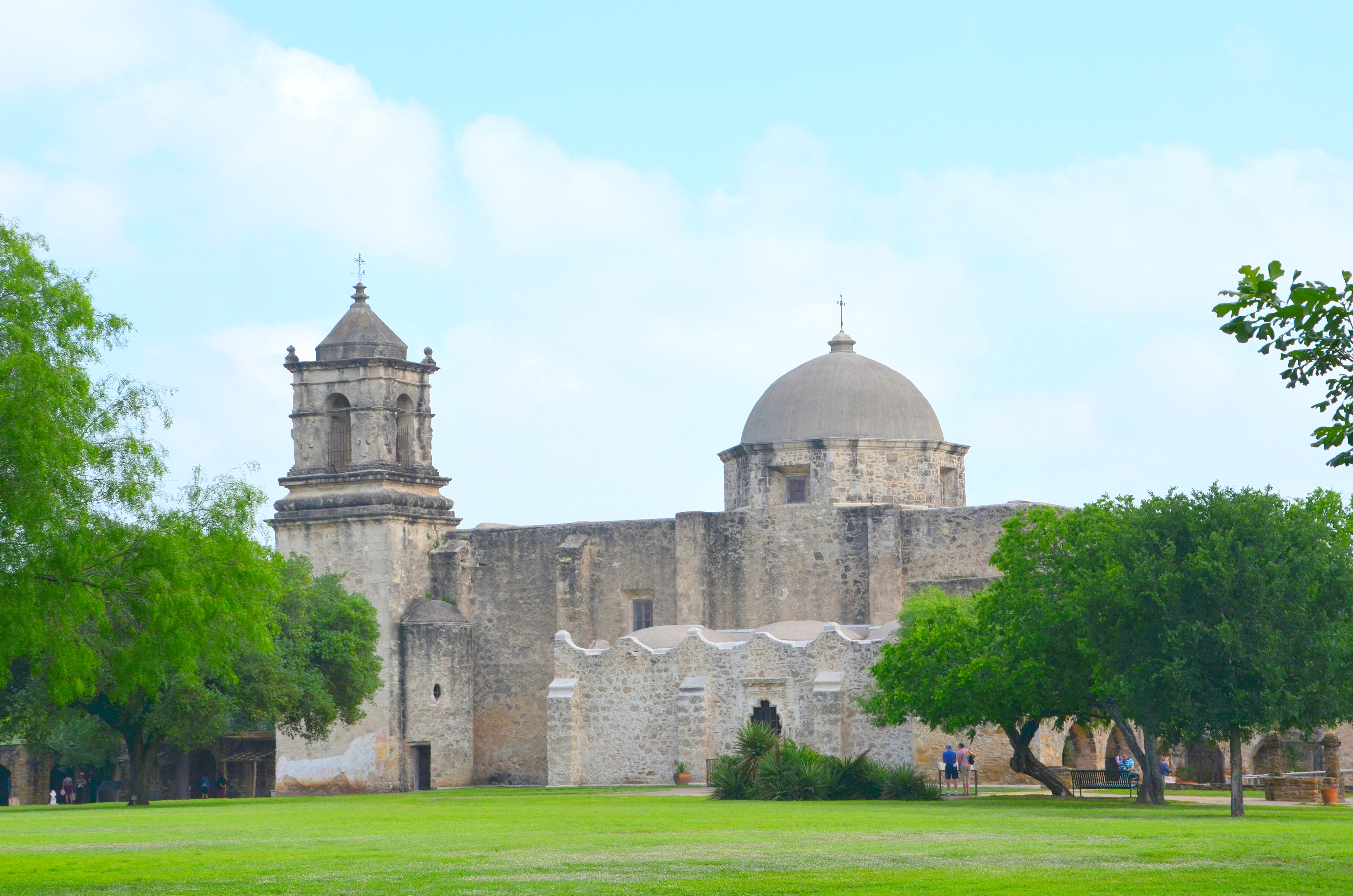 Mission San Jose In San Antonio The Happy Wonderer