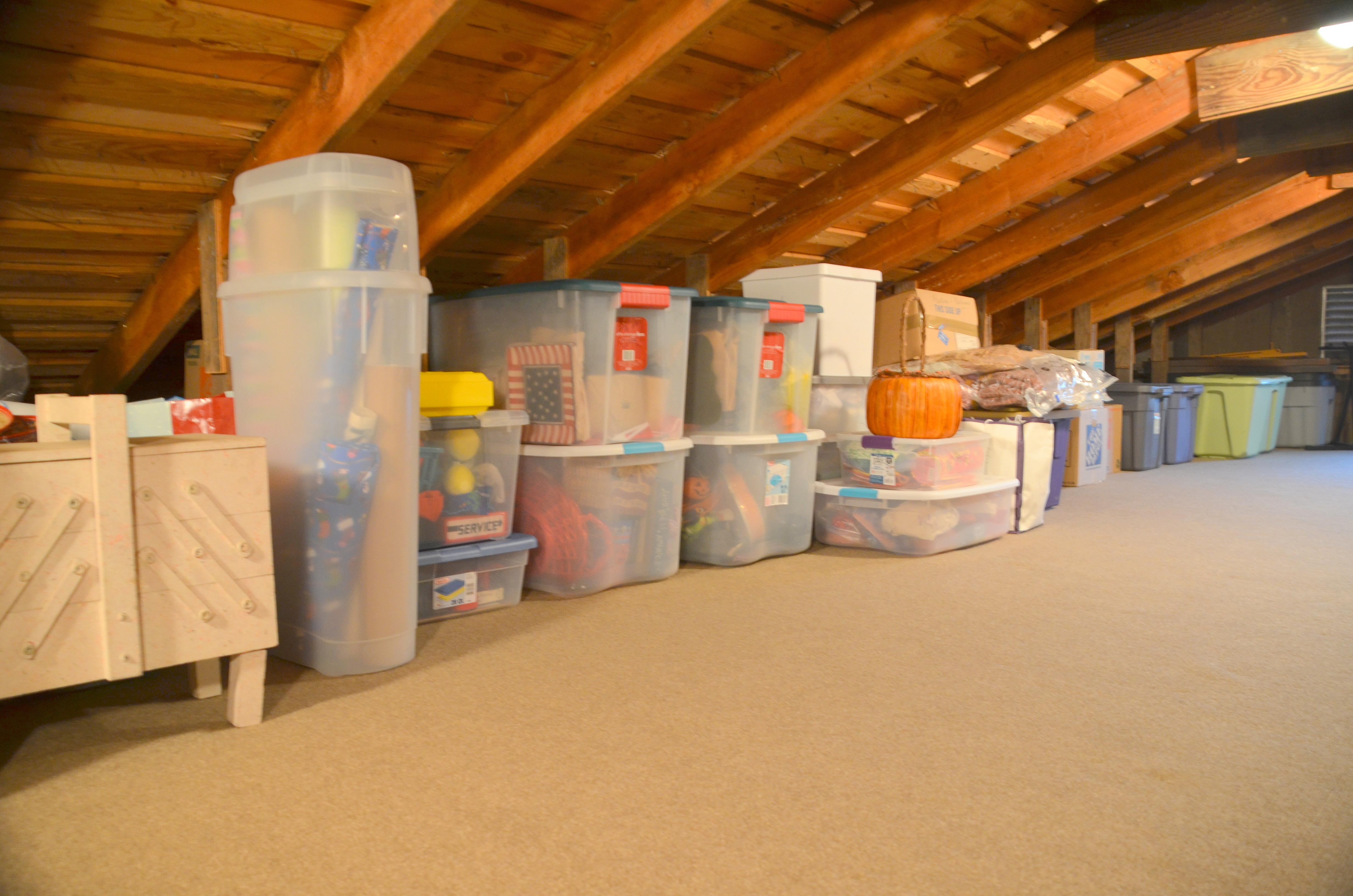 Attic Storage The Happy Wonderer Ellen B