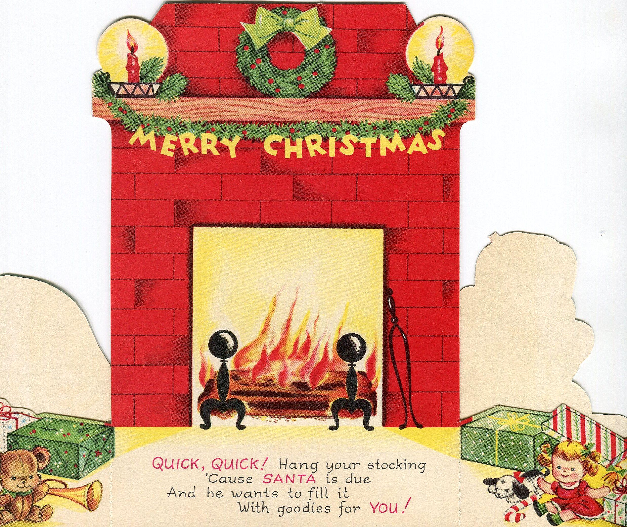 Vintage Christmas Cards | The Happy Wonderer ~ ellen b.