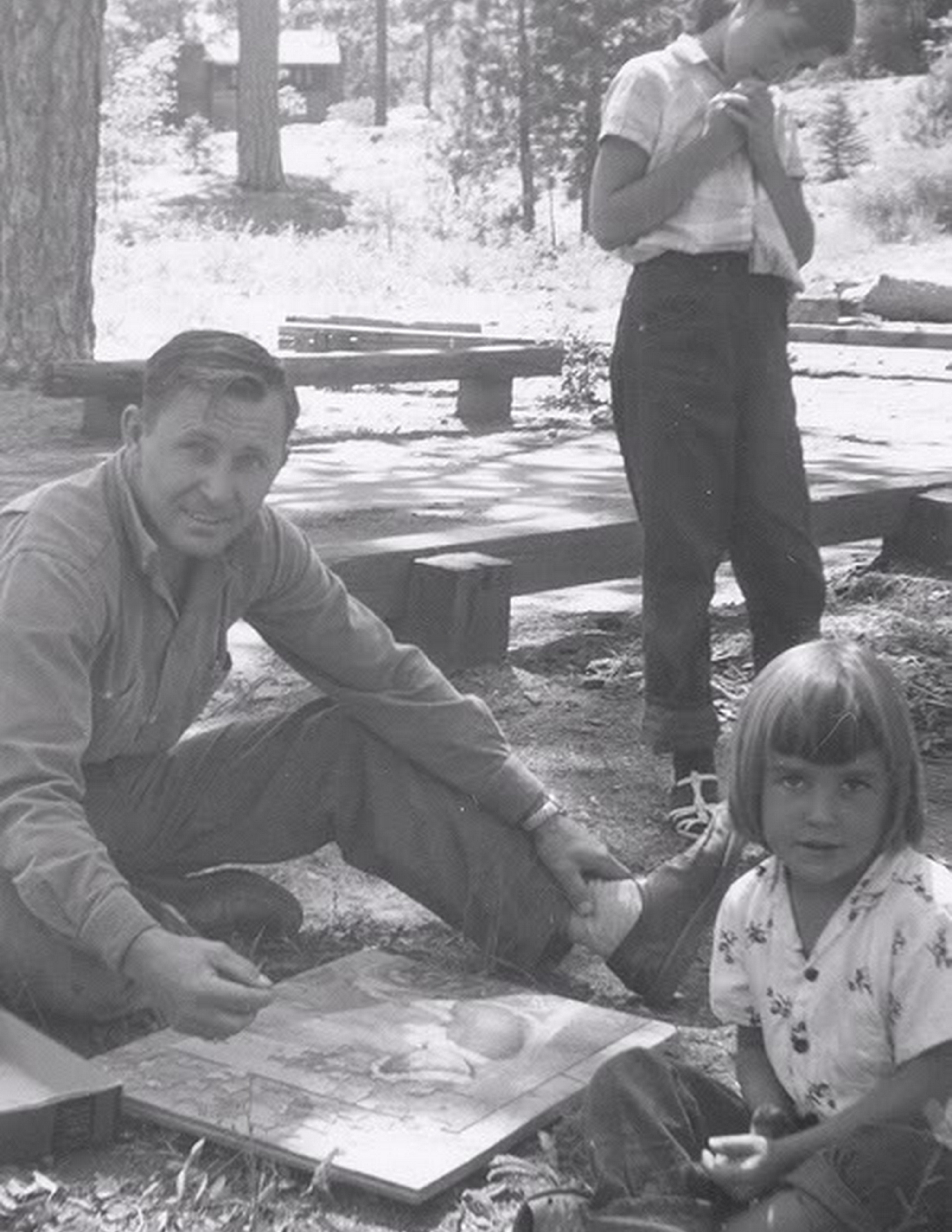 In The 50S We Would Go Camping In The Mountains